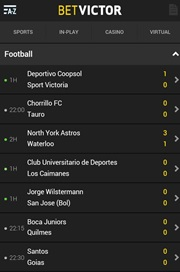 betvictor mobile betting