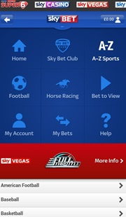 skybet mobile android app